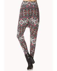 Forever 21 | Mirrored Tribal Print Harem Pants | Lyst