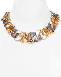 Marc By Marc Jacobs Metallic Graduated Katie Necklace 20