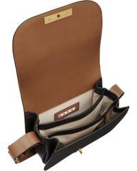 Marni - Brown Studded Small Saddle Bag - Lyst