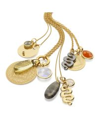 Monica Vinader - Metallic Small Nugget Pendant - Lyst