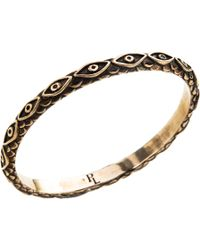 Pamela Love - Black Bronze Ajna Bangle - Lyst