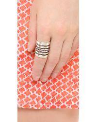 Pamela Love Metallic Path Ring