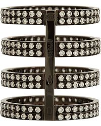 Repossi | Black Berbere 4-band Cage Ring | Lyst