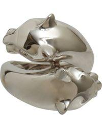 Sidney Garber - Metallic Panther Ring - Lyst