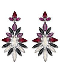 Swarovski - Multicolor Vermillon Pierced Earrings - Lyst