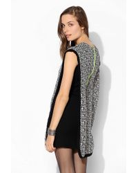 Urban Outfitters - Black This Is A Love Song Ithaca Overlay Dress - Lyst