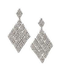 ABS By Allen Schwartz - Metallic Chandelier Earrings - Lyst