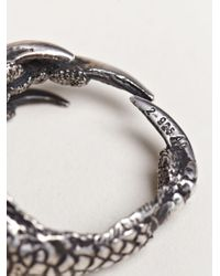 Ann Demeulemeester - Metallic Mens Claw Ring for Men - Lyst