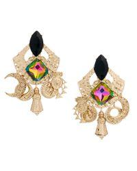 ASOS - Metallic Turkish Delight Earrings - Lyst