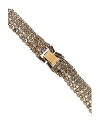 Erickson Beamon - Metallic Aerin Goldplated Swarovski Crystal Necklace - Lyst