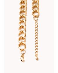Forever 21 - Metallic Striking Multi-Layer Bead Necklace - Lyst