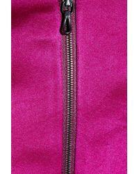 Lanvin Purple Washed Duchess Silk Satin Dress
