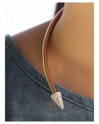 Luv Aj - Pink Septum Pave Collar - Lyst