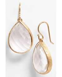 Melinda Maria | Metallic Milton Teardrop Earrings | Lyst