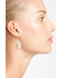 Melinda Maria | Metallic Milton Teardrop Earrings | Lyst