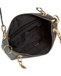 Michael Kors - Black Brooke Leather Shoulder Bag - Lyst