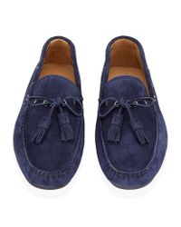 Ralph Lauren - Blue Harold Loafer for Men - Lyst
