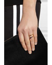 Stella McCartney Metallic Matchstick Goldtone Ring