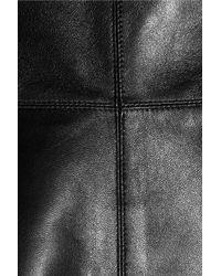 Valentino Black Leather Dress