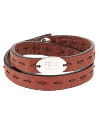 Fendi | Green Double Wrap Bracelet for Men | Lyst
