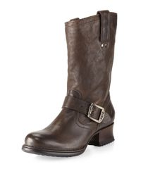 Frye | Red Martina Short Boot Gray | Lyst