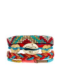 Hipanema | Orange Arizona Bracelet | Lyst