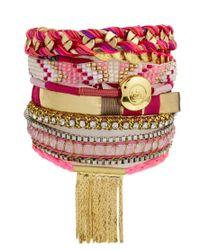 Hipanema - Pink Imperial Bracelet - Lyst