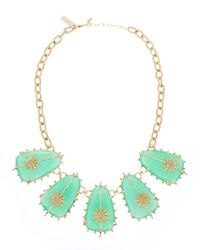 Kendra Scott | Green Fivestation Turquoise Magnesite Necklace | Lyst