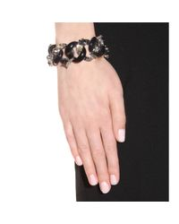 Marc By Marc Jacobs - Metallic Embellished Exploded Katie Bracelet - Lyst