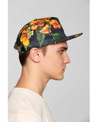 Urban Outfitters - Black 10deep Gold Standard Strapback Hat for Men - Lyst