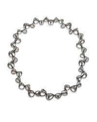 Di Modolo - Metallic Rock Quartz Cage Collar Necklace - Lyst