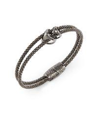 Di Modolo - Metallic Tworow Triadra Bracelet - Lyst