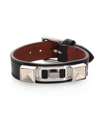Proenza Schouler | Black Ps11 Small Leather Bracelet | Lyst