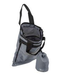 Napapijri - Gray Large Fabric Bag for Men - Lyst