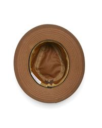 Brooks Brothers Brown Filson® Tin Cloth Packer Hat for men