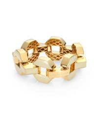 Marc By Marc Jacobs - Metallic Bolt Link Bracelet - Lyst