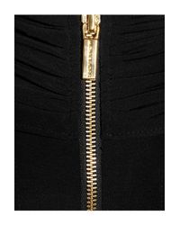 MICHAEL Michael Kors Black Stretch Crepe Jersey Jumpsuit