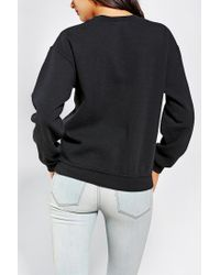Urban Outfitters - Black Obey Cheetah Logo Pullover Sweatshirt - Lyst