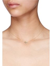 Bao Bao Wan | Metallic 'little Pagoda' 18k Gold Diamond Necklace | Lyst