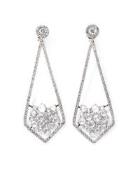 Susan Foster - Diamond and White Gold Earrings - Lyst