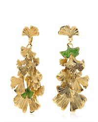 Aurelie Bidermann - Green Tangerine Earrings - Lyst