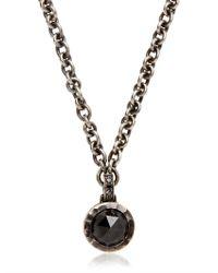Bonato Milano 1960 Black Diamond Necklace for men