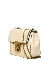 Chloé Natural Elsie Grained Leather Shoulder Bag