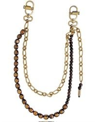 DSquared² | Metallic Beaded Metal Pocket Chain for Men | Lyst