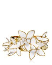 DSquared² - Metallic Set Of Two Brass Bangle Bracelets - Lyst