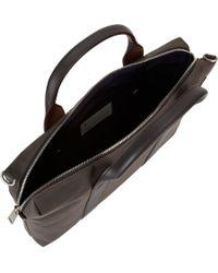 Jack Spade Gray Waxwear Davis Briefcase for men