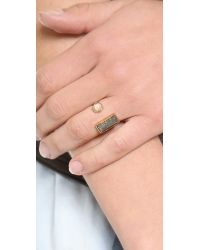 Kelly Wearstler | Metallic Richmond Ring | Lyst
