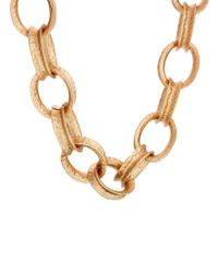 Kenneth Jay Lane | Metallic Chunky Chain Link Necklace | Lyst