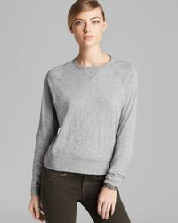 Rag & Bone Gray Sweatshirt Classic Raglan