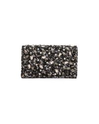 Alice + Olivia Gray Be Jeweled Clutch